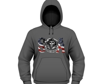 SONS OF ANARCHY - HOODIE, FLAG