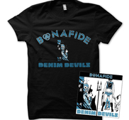BONAFIDE - BUNDLE, DENIM DEVILS (T-SHIRT+CD)