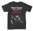 GRIM REAPER - T-SHIRT, SEE YOU IN HELL