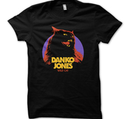 DANKO JONES - T-SHIRT, WILD CAT