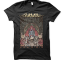 SPARZANZA - T-SHIRT, ANNOUNCING THE END (USED BLK)