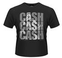JOHNNY CASH - T-SHIRT, CASH CASH CASH