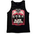 BLACK SABBATH - TANK TOP, RED FLAMES