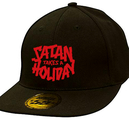 SATAN TAKES A HOLIDAY - CAP, LOGO