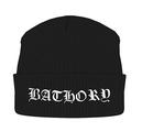 BATHORY - KNITTED SKI HAT, LOGO
