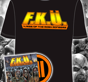 F.K.Ü - BUNDLE, MOSH MONGERS (T-SHIRT + LIMITED DIGIPACK)