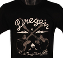 DREGEN - T-SHIRT, CROSSED GUITARS