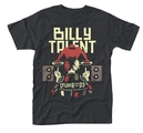 BILLY TALENT - T-SHIRT, LOUDER THAN THE DJ
