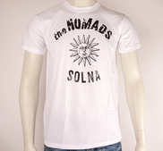 THE NOMADS - T-SHIRT, LOGO SUN (WHITE)