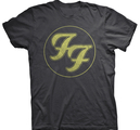 FOO FIGHTERS - T-SHIRT, FF LOGO CIRCLE