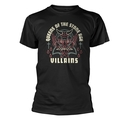 QUEENS OF THE STONE AGE - T-SHIRT, VILLIANS