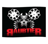 RAUBTIER - POSTER FLAG, KAMPHUND
