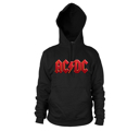 AC/DC - HOODIE, RED LOGO
