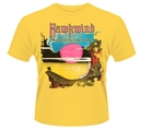 HAWKWIND - T-SHIRT, WARRIOR ON THE EDGE