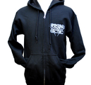 IMPERIAL STATE ELECTRIC - ZIP-HOODIE, LOGO PANTHER