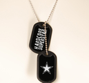 HARDCORE SUPERSTAR - DOG TAGS, LOGO
