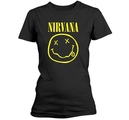 NIRVANA - GIRLIE, SMILEY LOGO