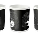 KISS - MUG, FACES  (WHITE)