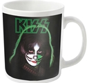 KISS - MUG, PETER CRISS  (WHITE)