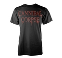 CANNIBAL CORPSE - T-SHIRT, DRIPPING LOGO
