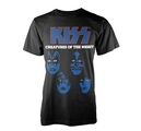 KISS - T-SHIRT, CREATURES OF THE NIGHT