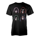 KISS - T-SHIRT, FACES