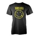 NIRVANA - T-SHIRT, SMILEY LOGO