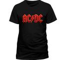 AC/DC - T-SHIRT, RED LOGO