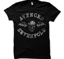 AVENGED SEVENFOLD - T-SHIRT, DEATH BAT
